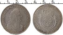 Изображение Монеты Франция 1/2 экю 1694 Серебро XF