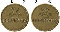 Изображение Монеты Бельгия Жетон 0 Латунь XF Brantano