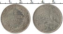 Изображение Монеты Немецкая Новая Гвинея 2 марки 1894 Серебро XF