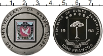 Изображение Монеты Экваториальная Гвинея 1000 франков 1995 Медно-никель UNC
