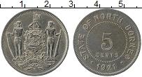 Продать Монеты Борнео 5 центов 1938 Медно-никель