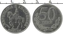 Изображение Монеты Албания 50 лек 1996 Медно-никель XF