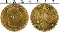 Изображение Монеты Австрия 100 крон 1915 Золото UNC- Франц Иосиф I (KM# 2