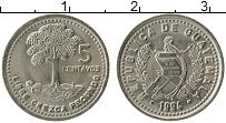 Продать Монеты Гватемала 5 сентаво 2000 Медно-никель
