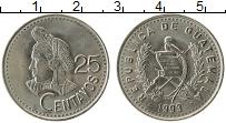 Продать Монеты Гватемала 25 сентаво 1992 Медно-никель