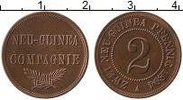 Изображение Монеты Германия Немецкая Новая Гвинея 2 пфеннига 1894 Бронза XF