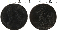 Изображение Монеты Франция Жетон 1774 Медь VF Коронация Людовика X