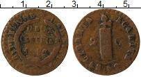 Изображение Монеты Гаити 2 сантима 1842 Медь VF