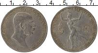 Продать Монеты Австро-Венгрия 5 крон 1908 Серебро