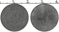 Изображение Монеты Польша 20 грош 1923 Цинк VF