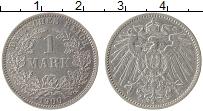 Изображение Монеты Германия 1 марка 1900 Серебро XF E