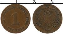 Изображение Монеты Германия 1 пфенниг 1903 Медь VF J
