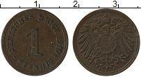Изображение Монеты Германия 1 пфенниг 1910 Медь VF E