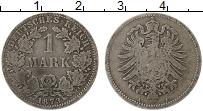 Изображение Монеты Германия 1 марка 1873 Серебро VF A