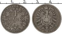 Изображение Монеты Германия 1 марка 1877 Серебро VF B
