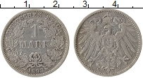 Изображение Монеты Германия 1 марка 1893 Серебро VF F
