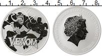 Изображение Мелочь Тувалу 1 доллар 2020 Серебро Proof