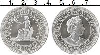 Продать Монеты Остров Святой Елены 1 фунт 2018 Серебро