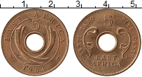Изображение Монеты Восточная Африка 5 центов 1964 Бронза UNC-