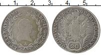 Изображение Монеты Австрия 20 крейцеров 1806 Серебро XF-