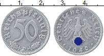 Изображение Монеты Третий Рейх 50 пфеннигов 1940 Алюминий VF