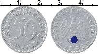 Изображение Монеты Третий Рейх 50 пфеннигов 1940 Алюминий VF J