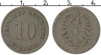 Изображение Монеты Германия 10 пфеннигов 1889 Медно-никель VF A