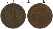 Изображение Монеты Германия 1 пфенниг 1889 Медь VF A