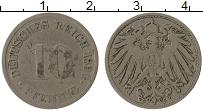 Изображение Монеты Германия 10 пфеннигов 1890 Медно-никель VF G