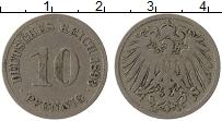 Изображение Монеты Германия 10 пфеннигов 1893 Медно-никель VF E