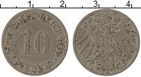 Изображение Монеты Германия 10 пфеннигов 1896 Медно-никель VF G
