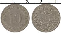 Изображение Монеты Германия 10 пфеннигов 1897 Медно-никель VF