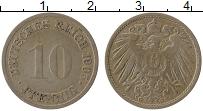 Изображение Монеты Германия 10 пфеннигов 1905 Медно-никель VF G