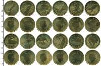 Изображение Наборы монет Австралия 1 доллар 2008 Латунь UNC