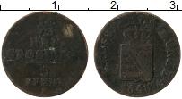 Изображение Монеты Саксония 1/2 гроша 1848 Серебро VF