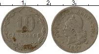 Изображение Монеты Аргентина 10 сентаво 1899 Медно-никель VF