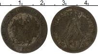 Изображение Монеты Южная Америка Гайана 10 сантим 1818 Серебро VF