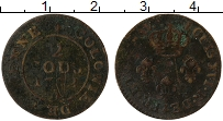 Изображение Монеты Гайана 2 су 1782 Медь VF