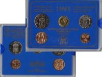 Изображение Подарочные монеты Швеция Набор монет 1993 года 1993  UNC Набор посвящён монет