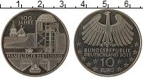 Изображение Монеты Германия 10 евро 2011 Медно-никель UNC J. 100 лет туннелю п