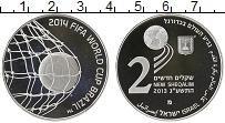 Изображение Монеты Израиль 2 шекеля 2014 Серебро Proof