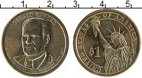 Изображение Мелочь США 1 доллар 2016 Латунь UNC