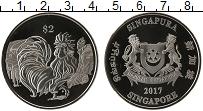 Изображение Монеты Сингапур 2 доллара 2017 Медно-никель Proof