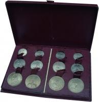 Изображение Подарочные монеты Французские Тихоокеанские территории 50 бат 1948 Медно-никель UNC