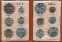 Изображение Подарочные монеты Новая Зеландия Набор монет 0  UNC