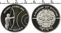 Продать Монеты Бутан 100 нгултрум 1998 Серебро
