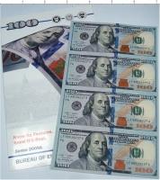 Изображение Подарочные монеты США 100 долларов 2009  UNC