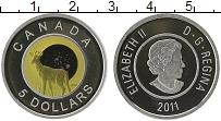 Изображение Монеты Канада 5 долларов 2011 Серебро Proof Цифровая печать. Ели