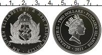 Изображение Монеты Острова Питкэрн 2 доллара 2011 Серебро Proof