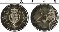 Изображение Монеты Испания 2 евро 2018 Биметалл UNC